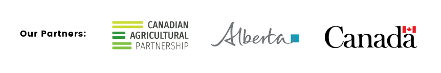 Our Partners: Canadian agricultural Partnership   Government of Alberta   Government of Canada